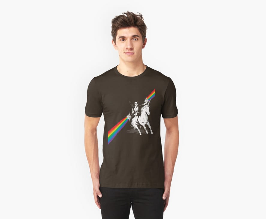 Obama Unicorn Rainbow Pride