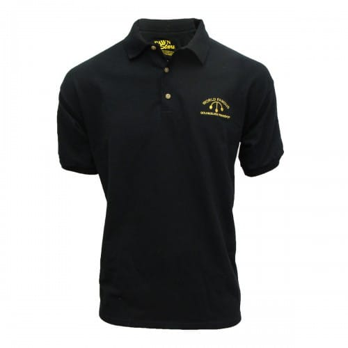 Pawn Stars Gold & Silver Pawn Shop Employee Black Adult Polo