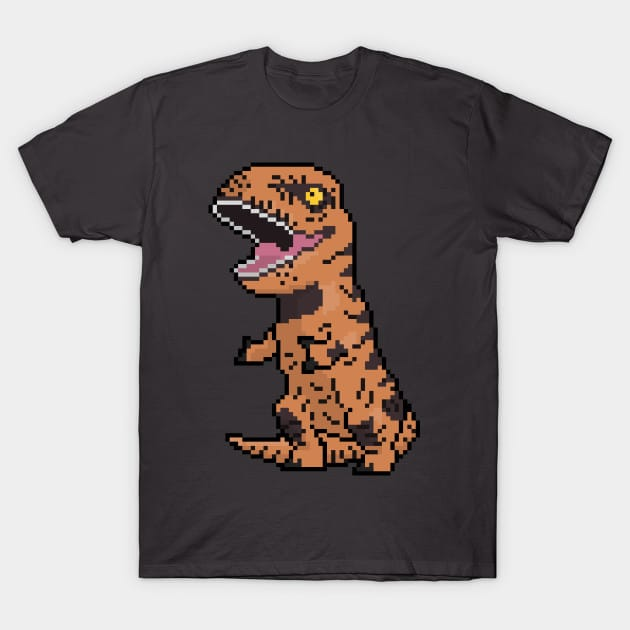 Pixely T-Rex T-Shirt