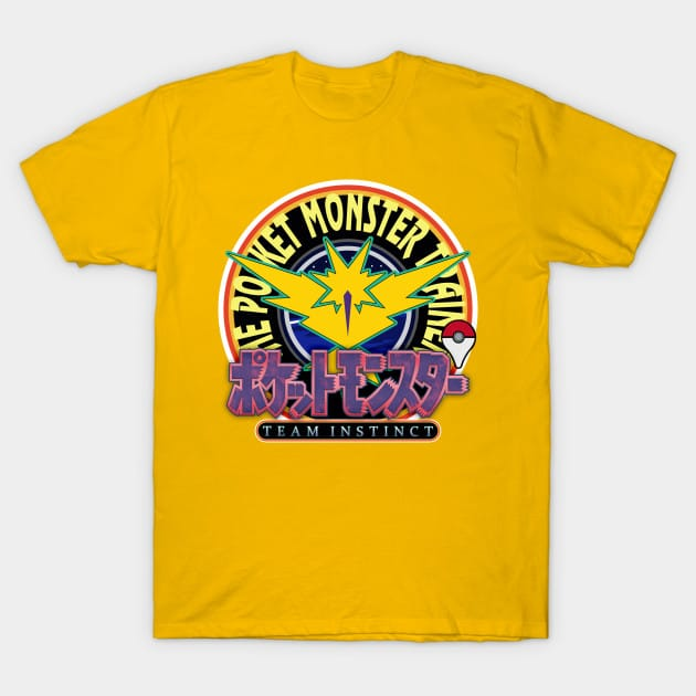 Pokemon Go Classic Japanese Style Instinct Edition T-Shirt