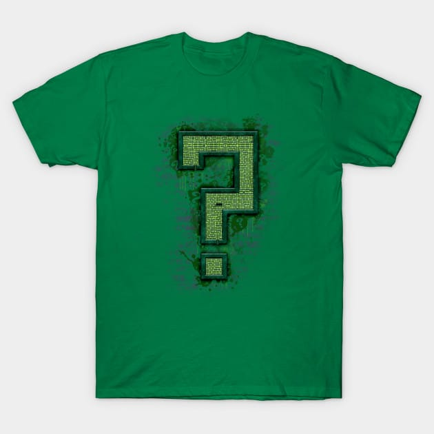Riddler's Questionable Maze T-Shirt