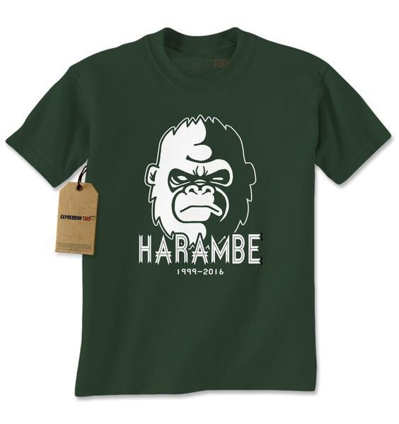 RIP Harambe Cincinnati Zoo Mens T-shirt