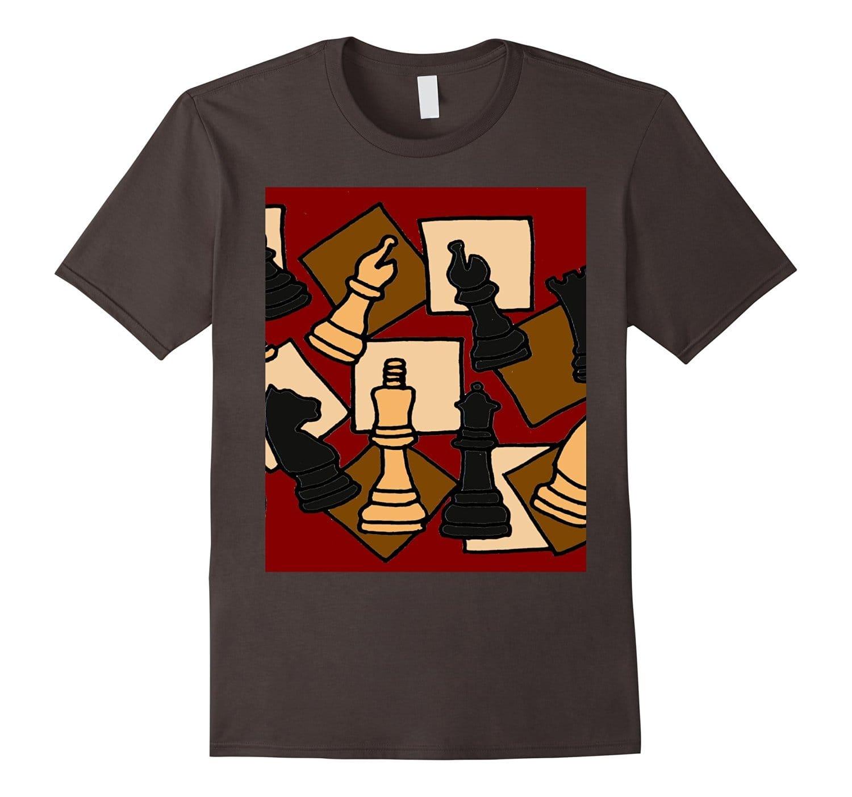 Smiletodaytees Cool Chess Game Pieces Art