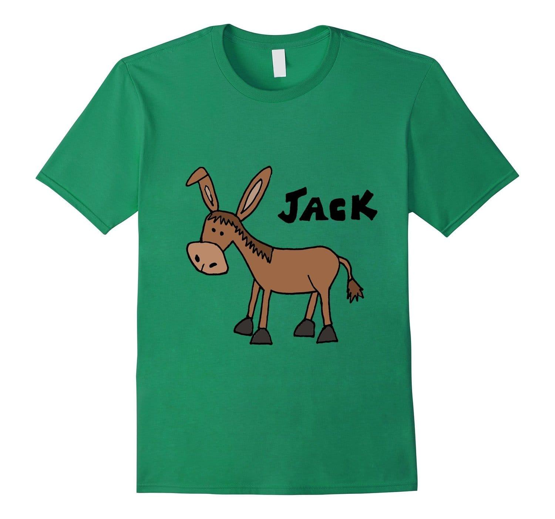 Smiletodaytees Funny Donkey Named Jack