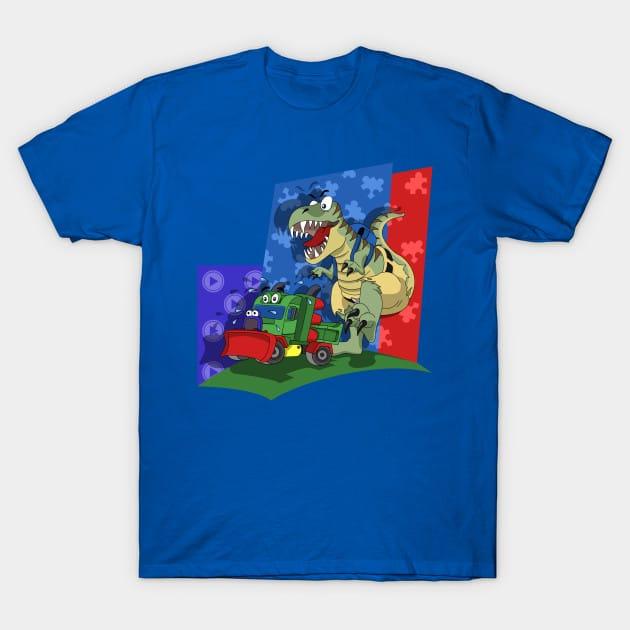 Snowplow Yooka Laylee & T-Rex Banjo T-Shirt