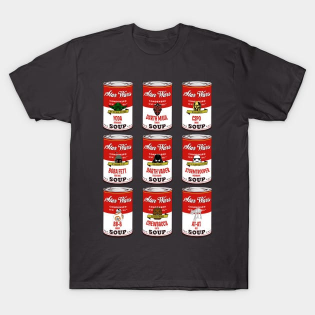 Star Wars Campbells Soup Collection T-Shirt