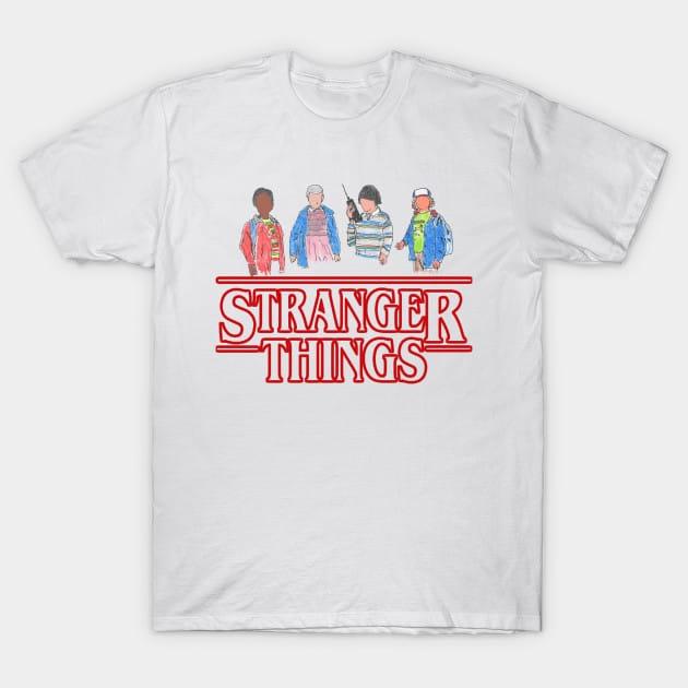 Stranger Things – the Gang T-Shirt