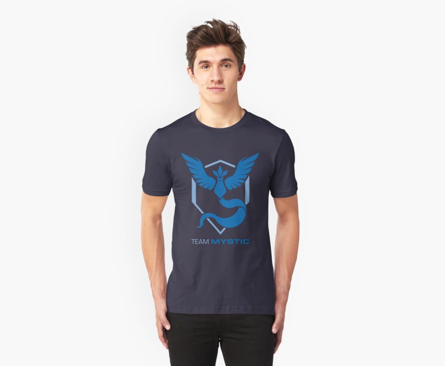 Team Mystic Logo with Text