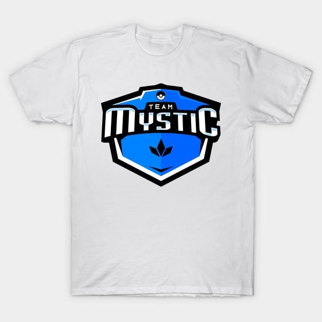 Team Mytic Emblem Logo T-Shirt