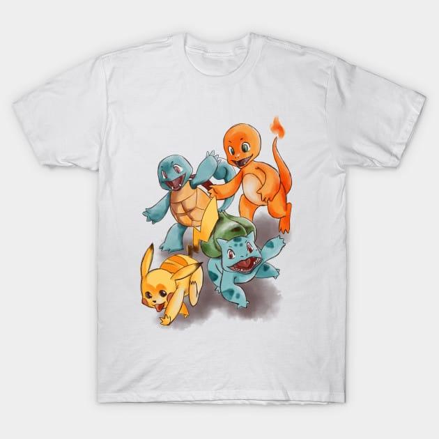 The cute race T-Shirt