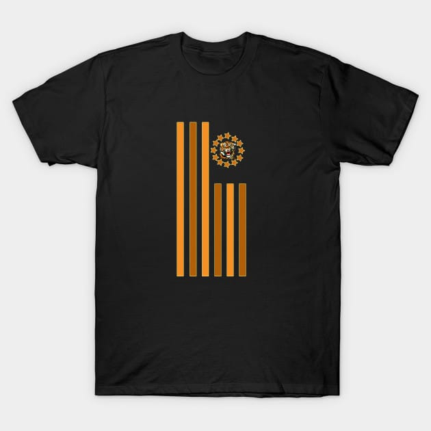 Tiger – Flag T-Shirt