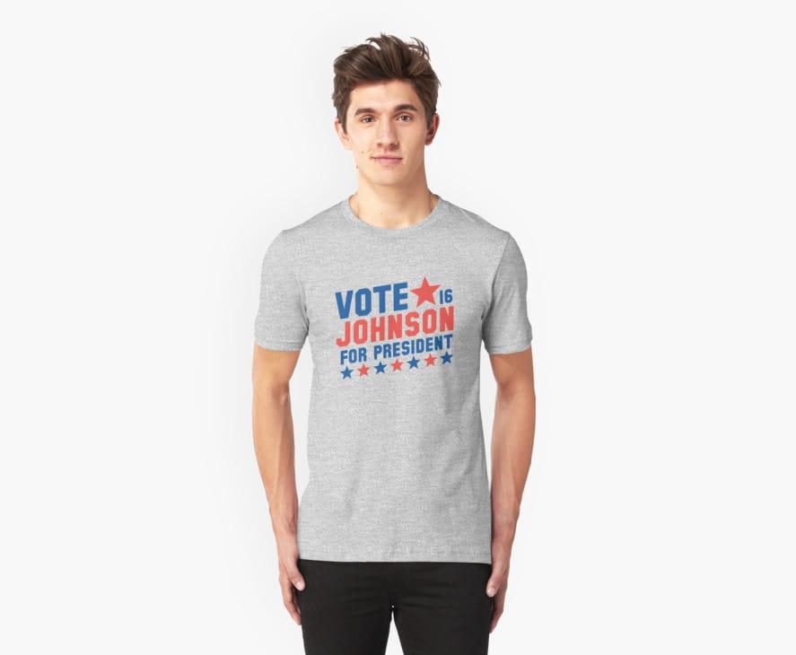 Vote Gary Johnson For President