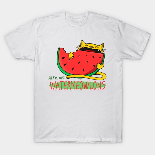 waterMEOWlons T-Shirt