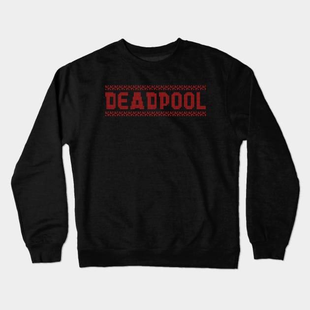 Xmas Knit Deadpool Christmas Jumper