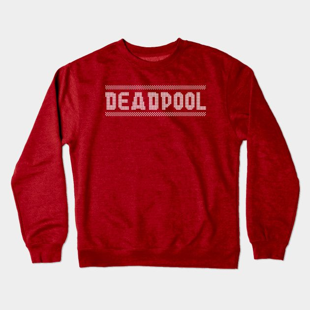 Xmas Knit Deadpool Christmas Jumper