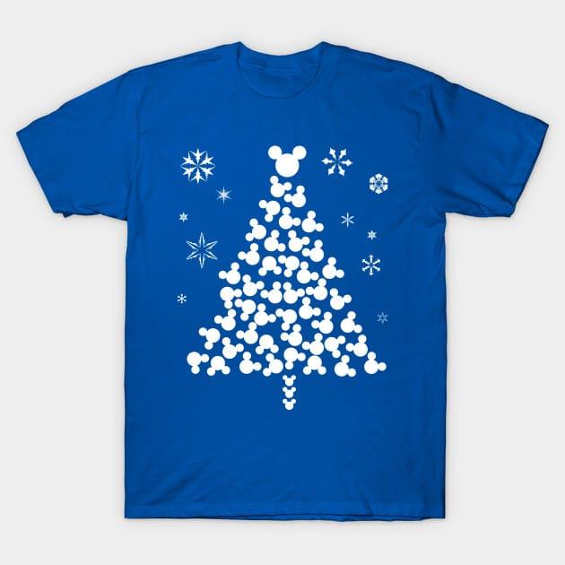 Xmas Mickey Head T-Shirt