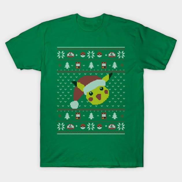 Xmas Pikachu T-Shirt