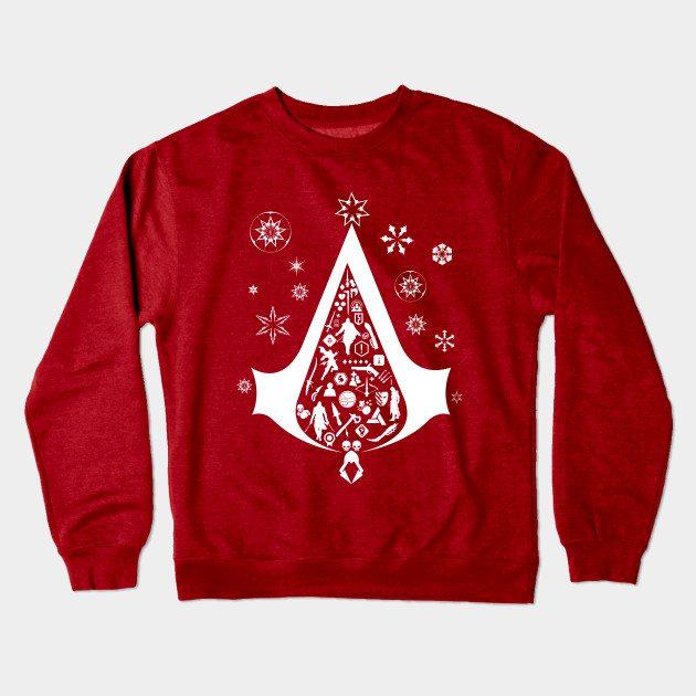 Xmas Tree Assassins Creed Christmas Jumper
