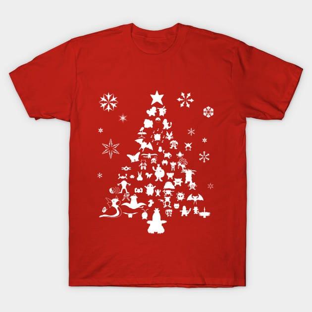 Xmas Tree Pokemon T-Shirt