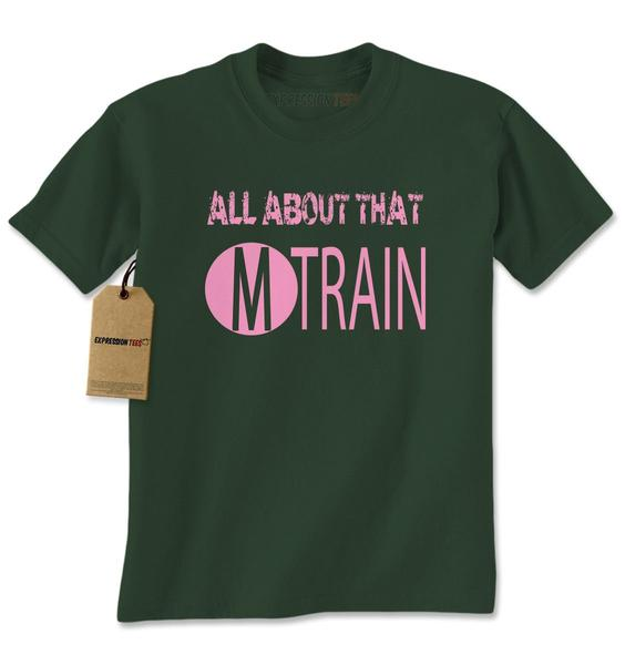 All About That M Train Concert Mens T-shirt