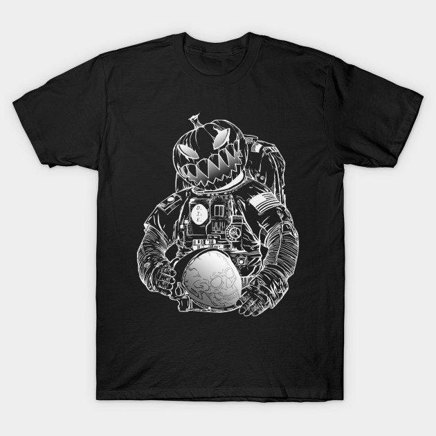 Astronaut's dark Halooween T-Shirt