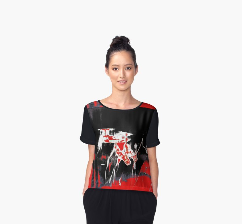 Big Bang 1 Women's Chiffon Top
