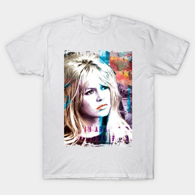 Brigitte Bardot red carpet T-Shirt