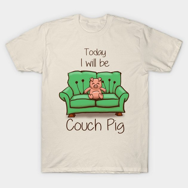Couch Pig – Full Colour
