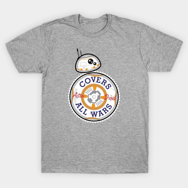 Covers All Wars T-Shirt