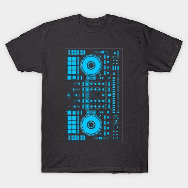 DJ blue T-Shirt