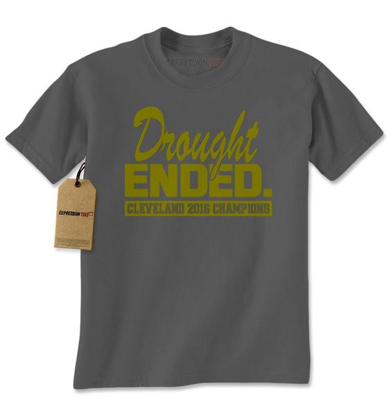 Drought Ended Cleveland 2016 Champions Mens T-shirt