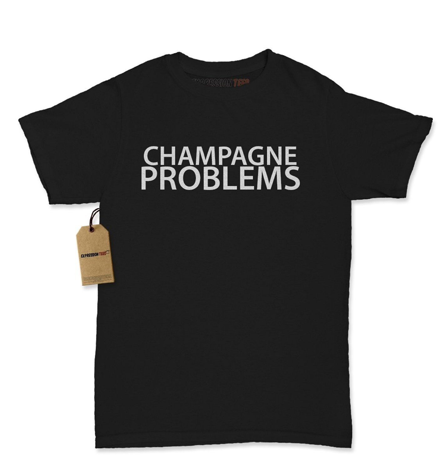 Expression Tees Champagne Problems Womens