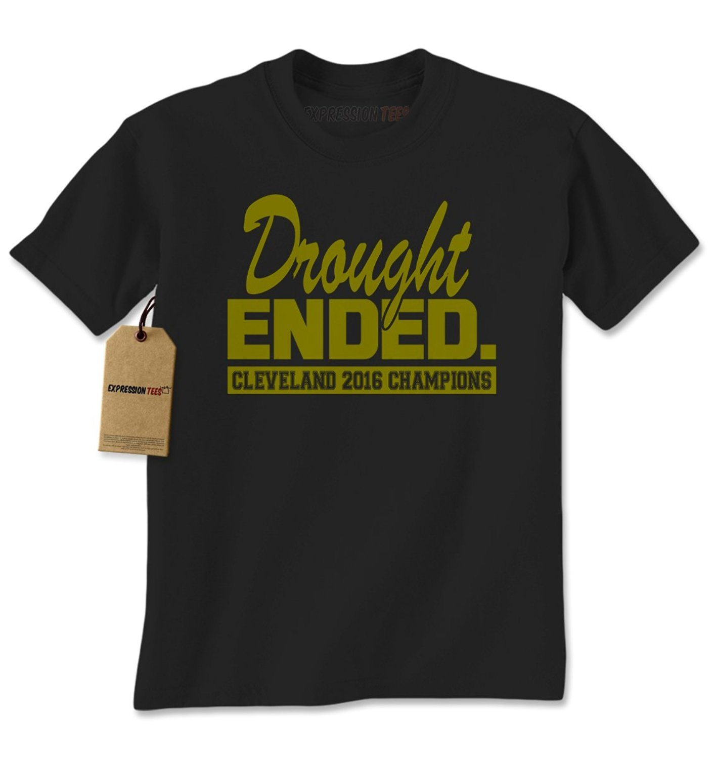 Expression Tees Drought Ended Cleveland 2016 Champions Mens