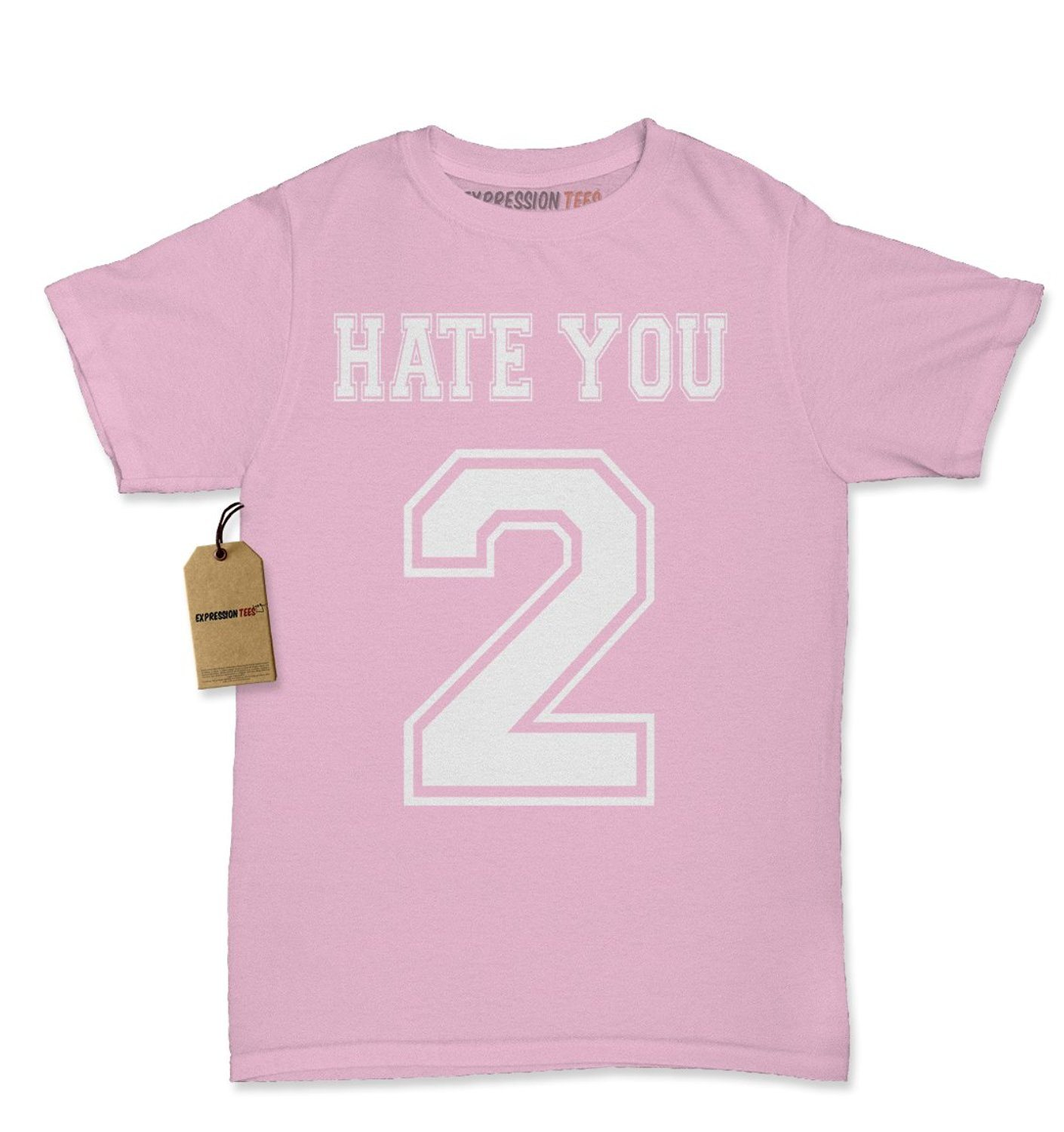 Expression Tees Hate You 2 Too Womens