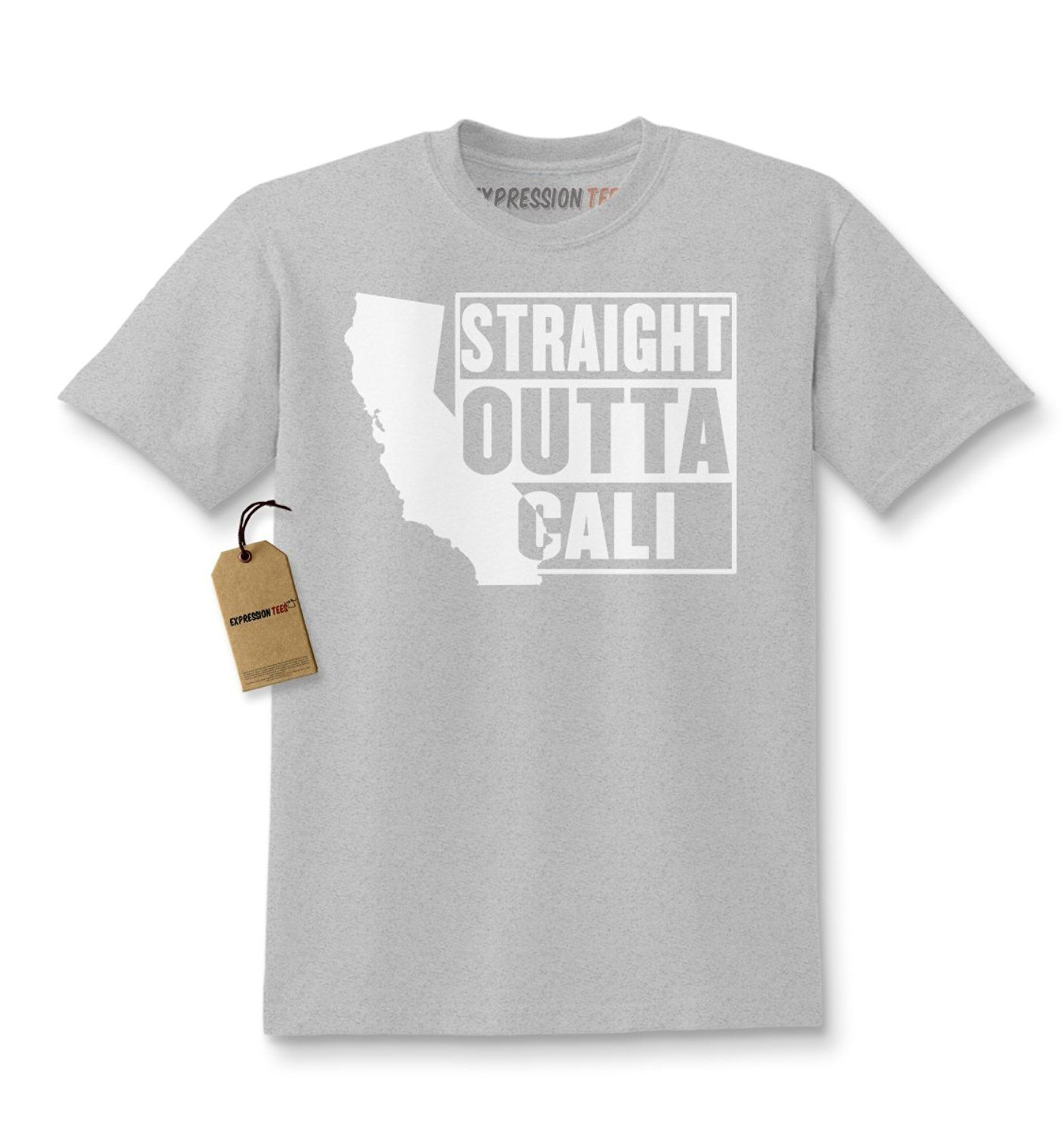 Expression Tees Straight Outta Cali California Kids