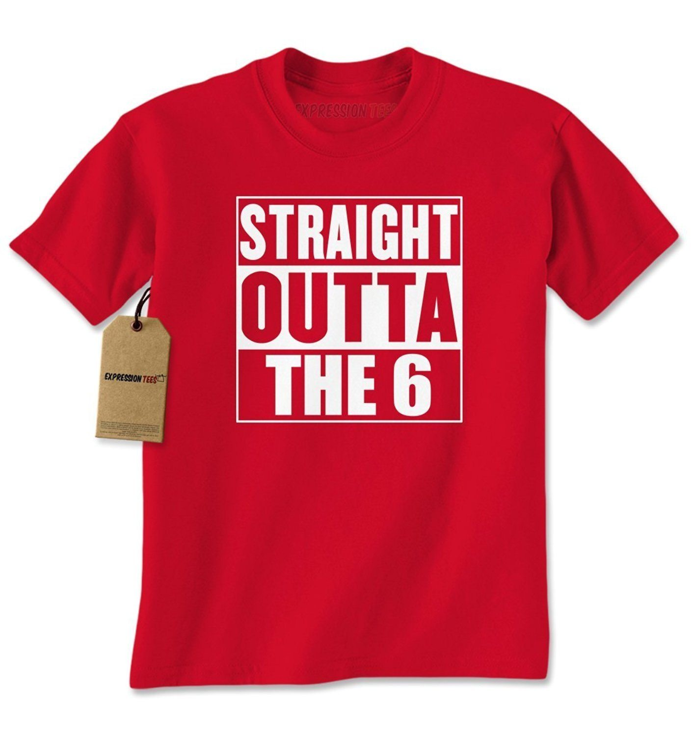 Expression Tees Straight Outta The 6 Mens