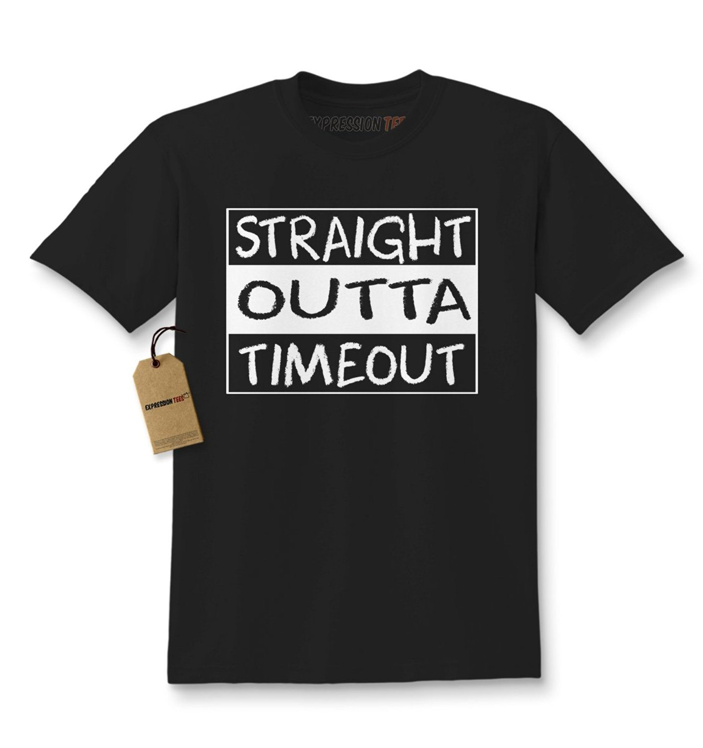 Expression Tees Straight Outta Timeout Time Out Kids