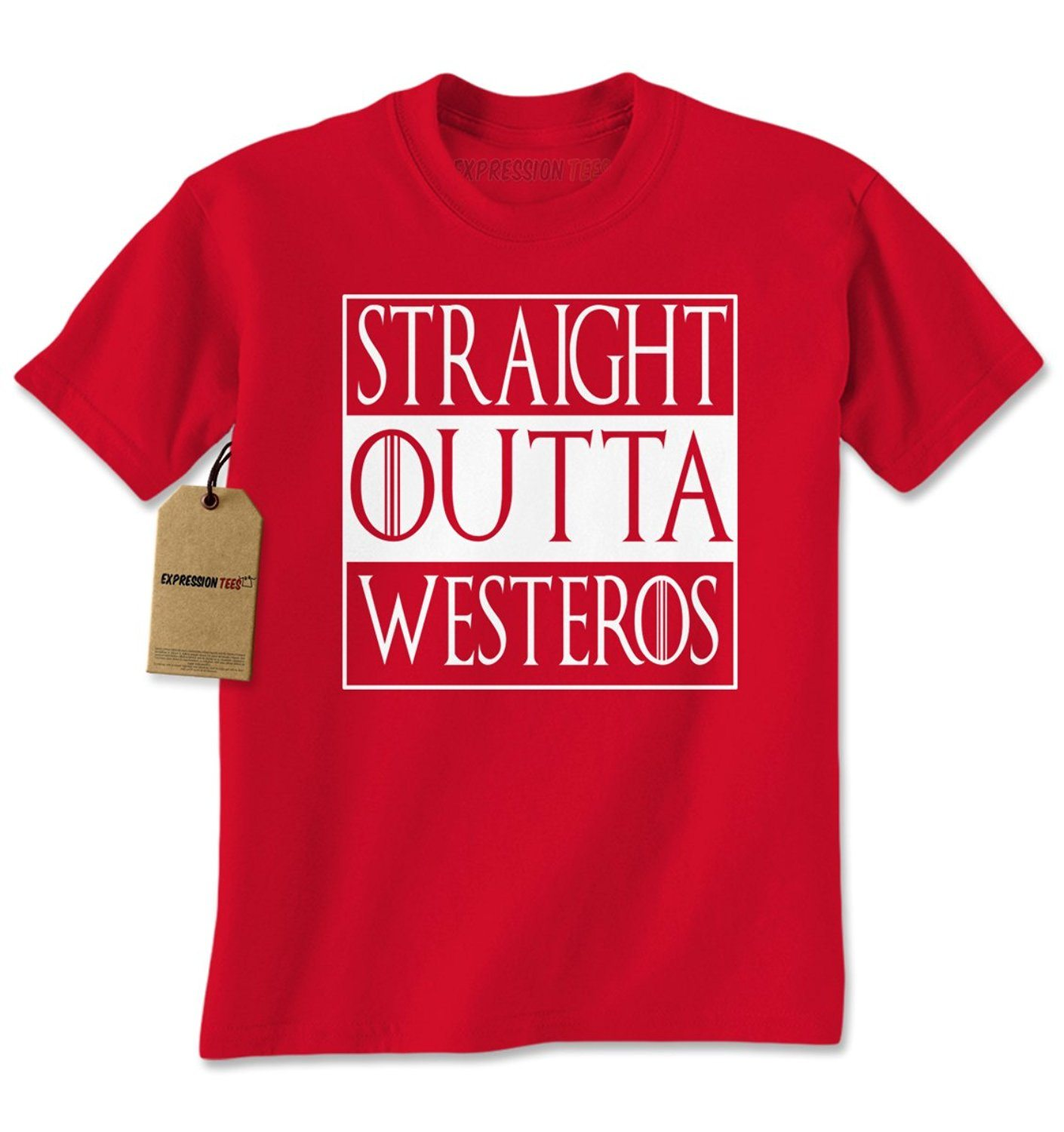 Expression Tees Straight Outta Westeros GoT Mens