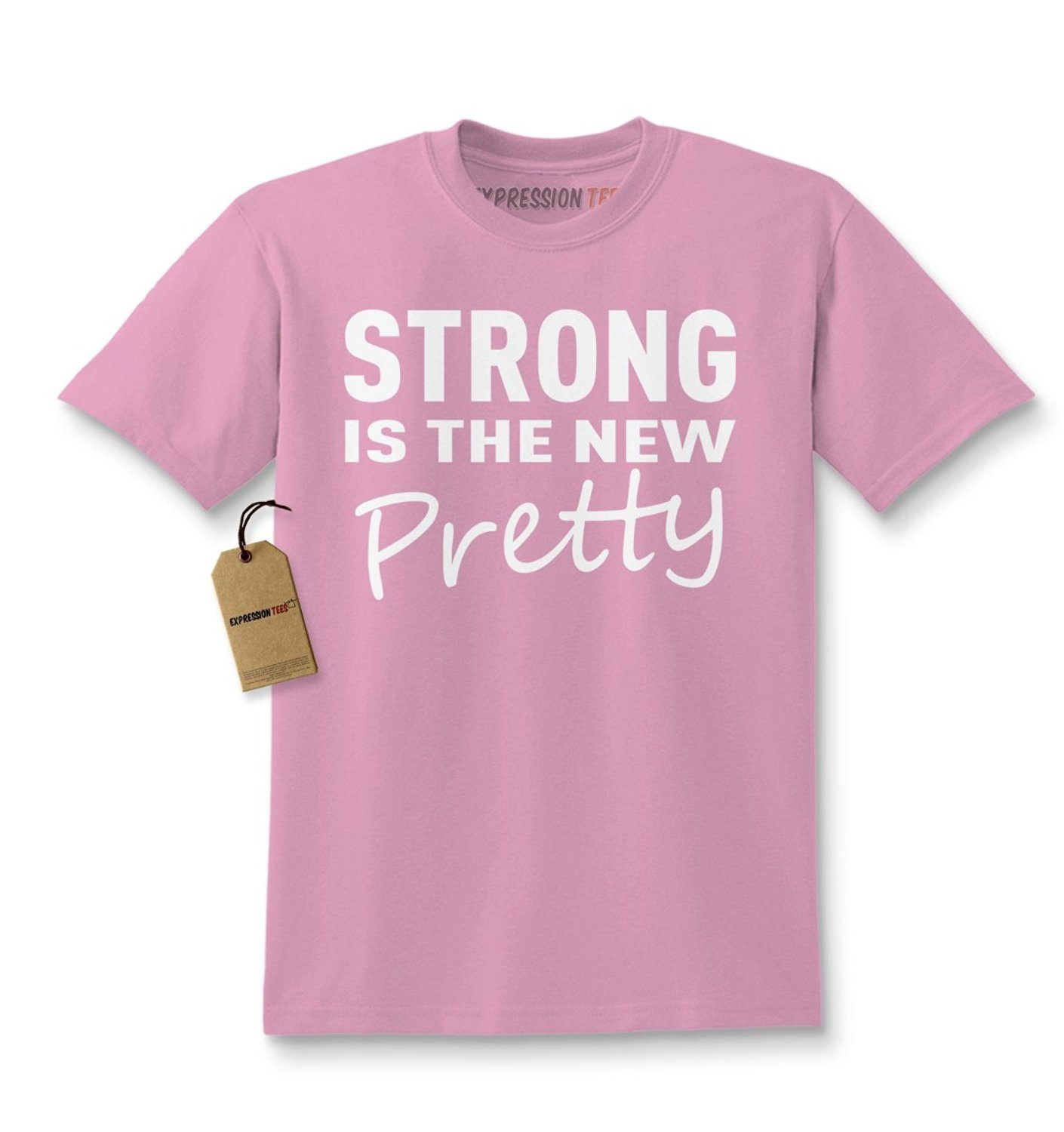 Expression Tees Strong Is The New Pretty Feminist Kids