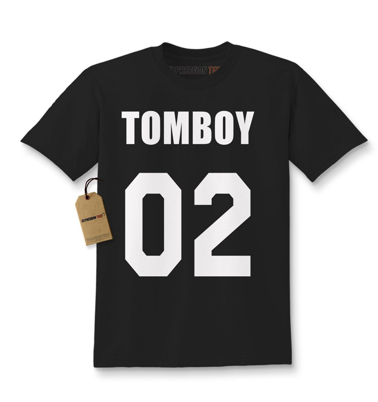 Expression Tees Tom Boy 02 Tomboy Kids