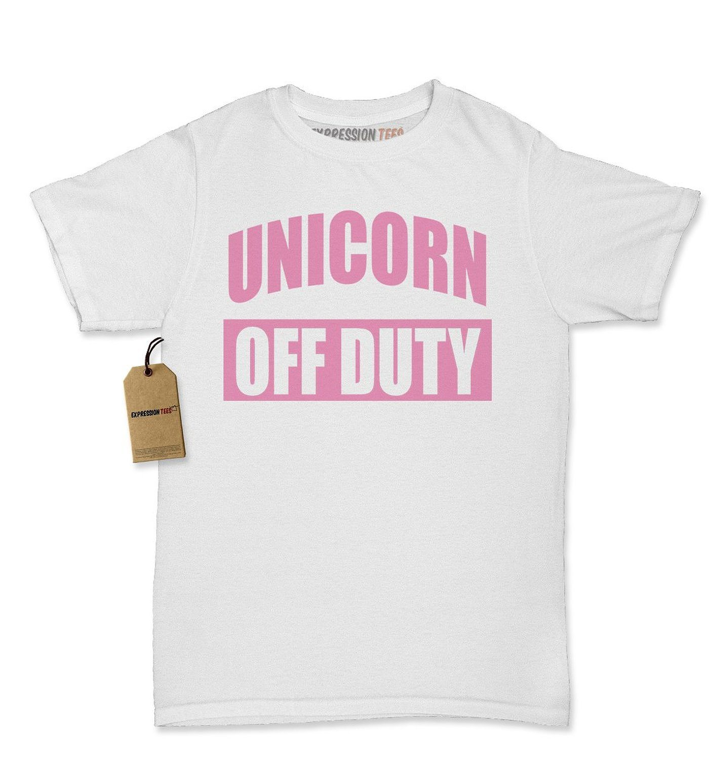 Expression Tees Unicorn Off Duty Womens