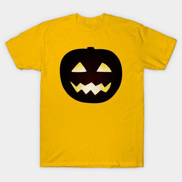 Grunge Halloween pumpkin T-Shirt