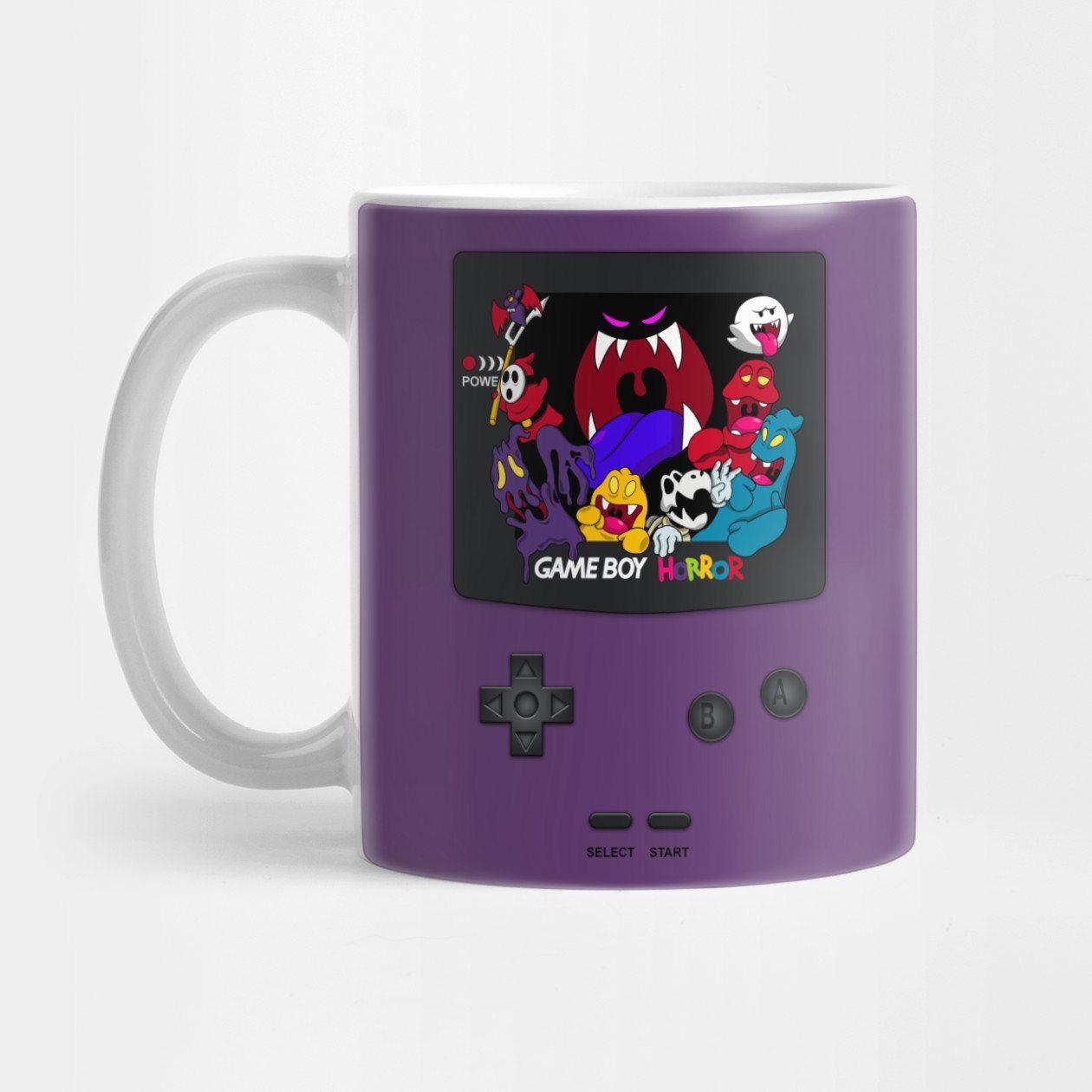 Haunted Game Boy (Luigi's Mansion Version) Mug
