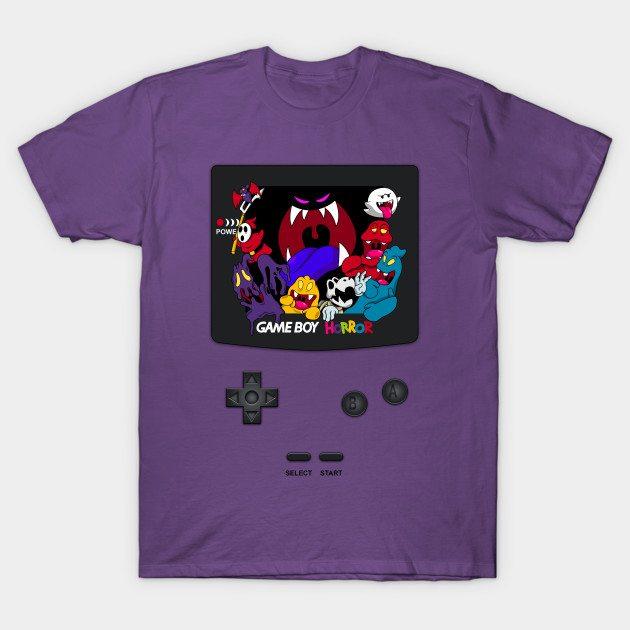 Haunted Game Boy (Luigi's Mansion Version) T-Shirt
