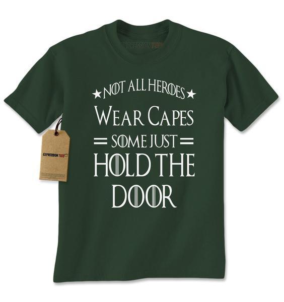 Hold The Door Hodor GoT Mens T-shirt