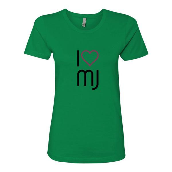 I Love MJ T Shirt