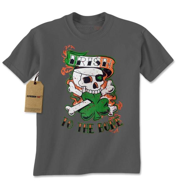 Irish To The Bone Mens T-shirt