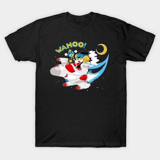 Klonoa X Galaga T-Shirt