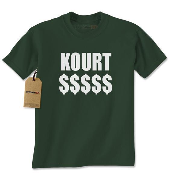 Kourt $$$$$ Mens T-shirt