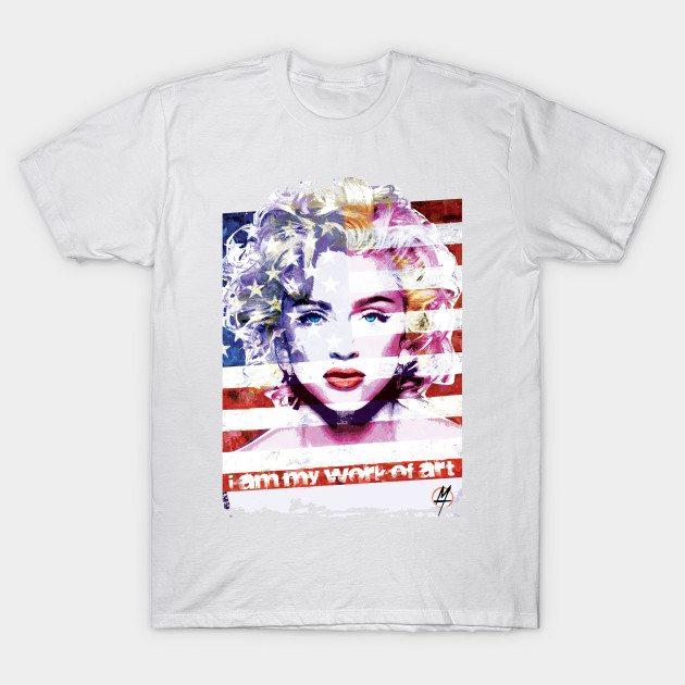 Madonna Work of Art T-Shirt